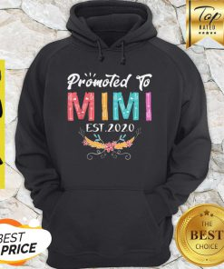 Awesome Promoted To Mimi Est 2020 Mothers Day Gift New Grandma Mama Hoodie