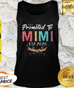 Awesome Promoted To Mimi Est 2020 Mothers Day Gift New Grandma Mama Tank Top