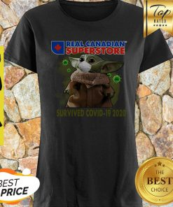 Baby Yoda Real Canadian Superstore Survived Covid-19 2020 Shirt