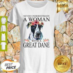 Beautiful Women Great-Dane Mom Mama Funny Mother Grandma Lover Gifts Shirt