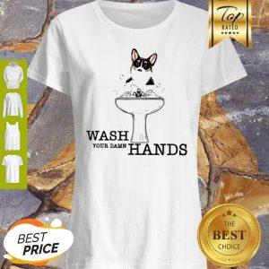 Corgi Wash Your Damn Hands Coronavirus Shirt