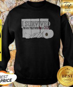 I Survived The Great Toilet Paper Panic Of 2020 Coronavirus Shirt
