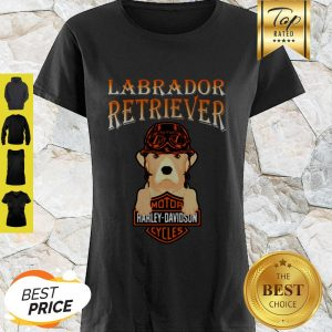 Labrador Retriever Mashup Motor Harley Davidson Cycles Shirt