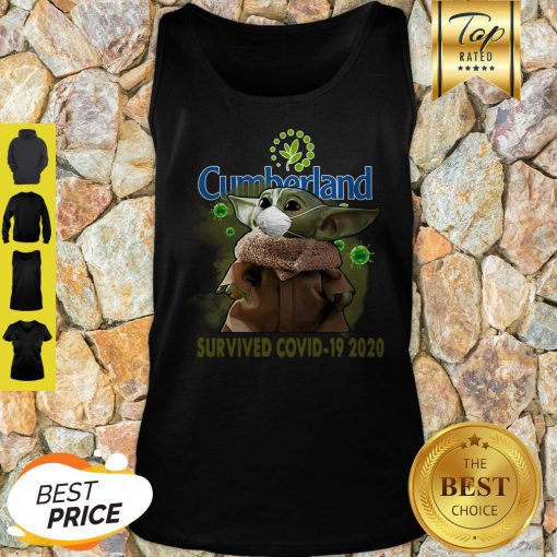 Nice Baby Yoda Cumberland Farms Survived Covid-19 2020 Tank Top