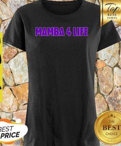 Nice Kobe Bryan Mamba 4 Life Shirt