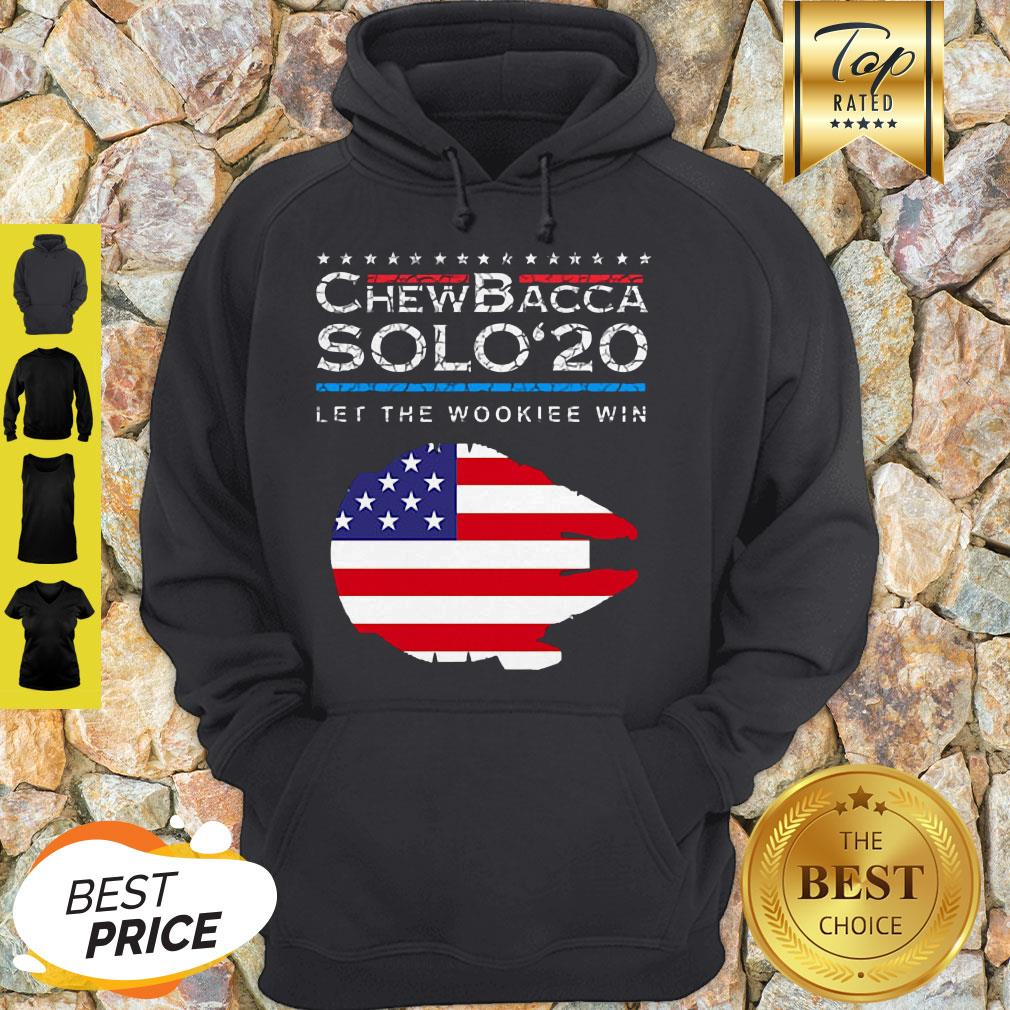 Official Chewbacca Solo 20 Let The Wookie Win Hoodie
