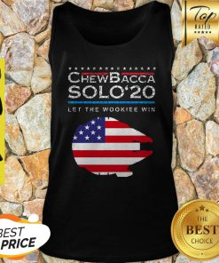 Official Chewbacca Solo 20 Let The Wookie Win Tank Top