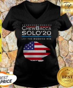 Official Chewbacca Solo 20 Let The Wookie Win V-neck