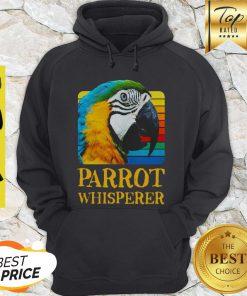 Official Parrot Whisperer Vintage Hoodie