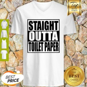 Official Straight Outta Toilet Paper V-neck