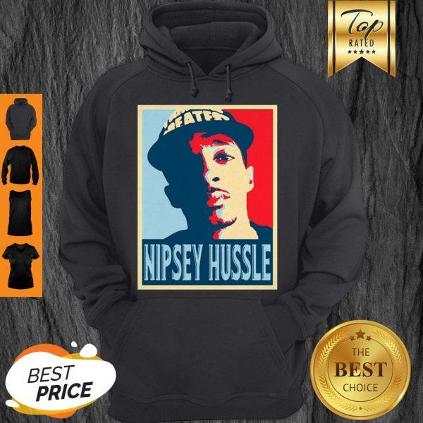 Rip Nipsey Hussle 1985-2019 Poster Hoodie