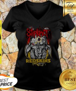 Slipknot Goat Washington Redskins V-neck