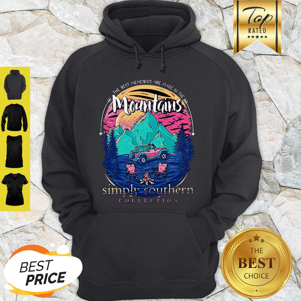 The Best Memories Are Made In The Mountains Hoodie