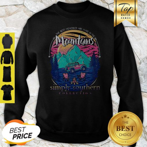 The Best Memories Are Made In The Mountains Sweatshirt