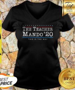 The Teacher Mando' 20 This Is The Way V-neck
