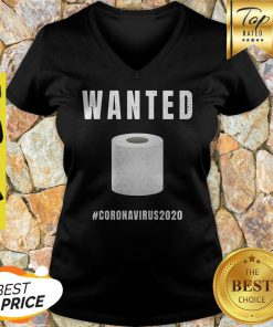 Wanted Toalettpapper #Coronavirus2020 V-neck