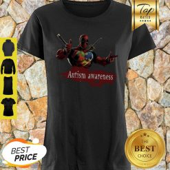 When All The Pieces Fit Together Autism Awareness Deadpool Shirt