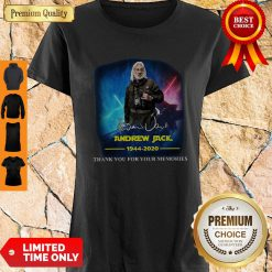 Andrew Jack 1944 2020 Thank You For The Memories Signature Shirt
