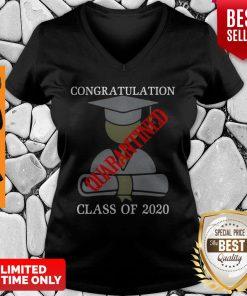 Congratulation Class Of 2020 Quarantined V-neck