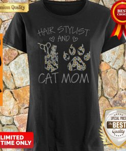 Daisy Hair Stylist And Cat Mom Shirt
