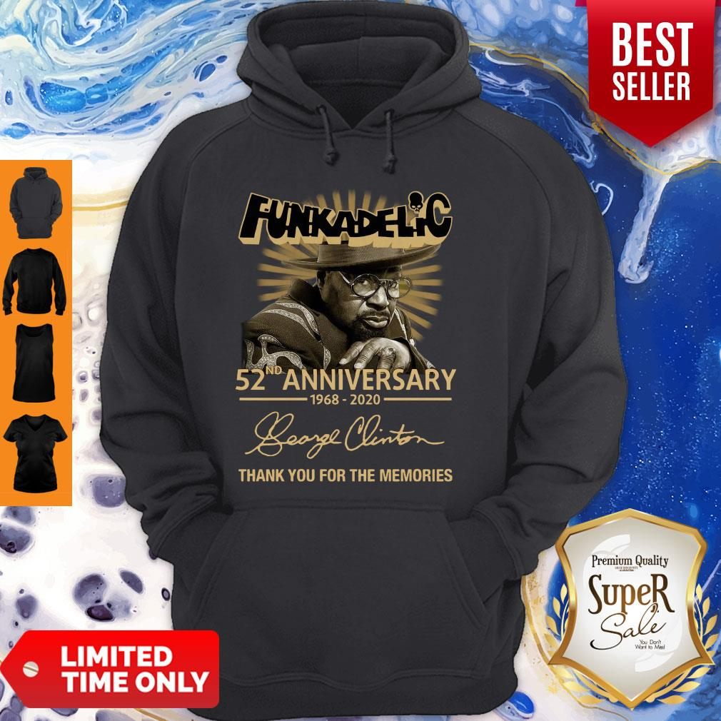 Funkadelic 52nd Anniversary Thank You For The Memories Signature Hoodie