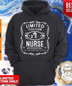 Nice Limited Edition 2020 Nurse #Essential Coronavirus Hoodie