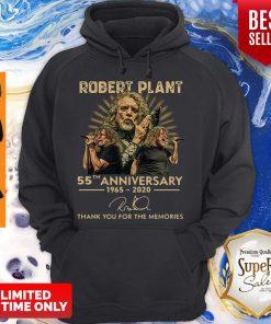 55th Anniversary 1965-2020 Robert Plant Signature Hoodie