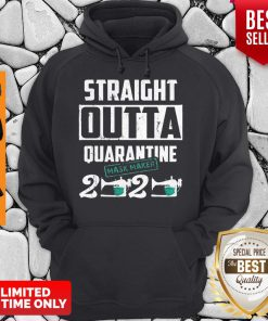 Straight Outta Quarantine Mask Maker 2020 Hoodie