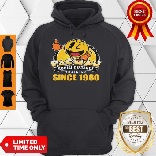 Pacman Social Distance Training Since 1980 Classic Hoodie