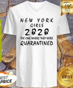 New York Girls 2020 The One Where They Were Quarantined Covid-19 V-neck