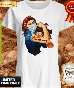 Nice Strong Girl Tattoo Lunch Lady Shirt