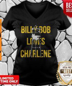 Official Billy Bob Loves Charlene V-neck