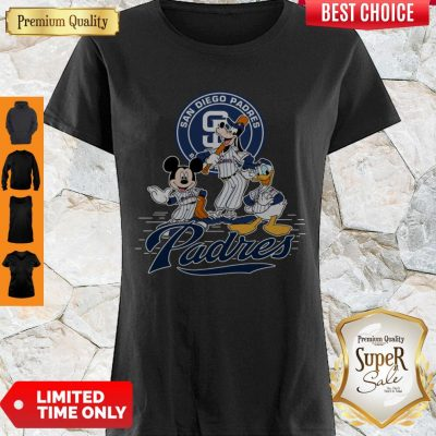 Awesome Mickey Mouse Goofy And Donald Duck San Diego Padres Shirt