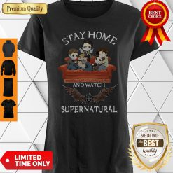 Awesome Stay Home And Watch Supernatural Shirt