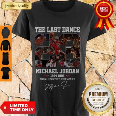 Top Michael Jordan The Last Dance 1984-1998 Thank You For The Memories Shirt