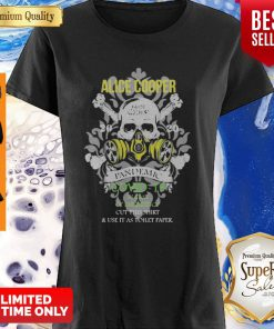 Alice Cooper 2020 Pandemic COVID-19 In Case Of Emergency Version Skull Shirt