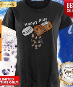 Funny Happy Pills Version Cats Shirt