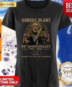 55th Anniversary 1965-2020 Robert Plant Signature Shirt