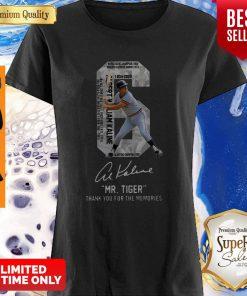 6 Al Kaline 1934-2020 Signature Mr. Tiger Detroit Tigers Shirt