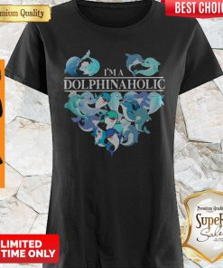 Official I'm A Dolphin Aholic Heart Shirt