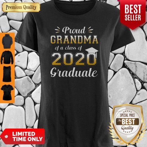 Proud Grandma Of A Class Of 2020 Graduate Shirt