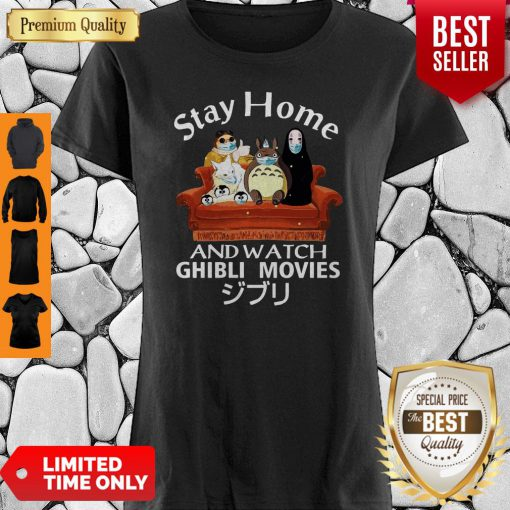 Official Stay Home And Watch Ghibli Movies Shirt