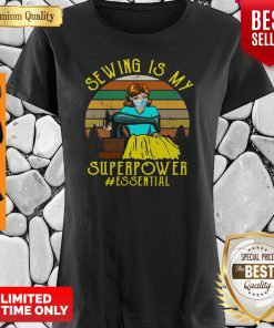 Funny Sewing Is My Superpower Essential Quilting Sewer Shirt