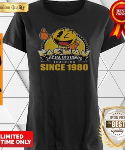 Pacman Social Distance Training Since 1980 Classic Shirt