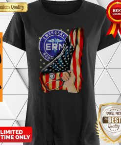 Official Emergency Room And American Flag Shirt