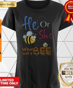 Official He Or She What Will It Bee Gift Shirt