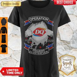 Original Dairy Queen Operation COVID-19 2020 Enduring Cluster Fuck Shirt