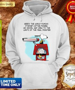 Snoopy And Woodstock Here's The World Famous Starship Snoopy's House Hoodie