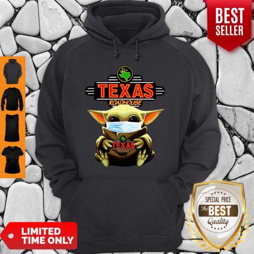 Star Wars Baby Yoda Hug Texas Roadhouse COVID-19 Hoodie