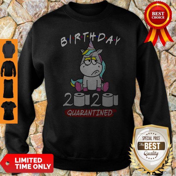 Original Unicorn Birthday 2020 Quarantined Sweatshirt